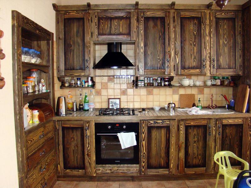 дизайн кухни под старину фото побед тебе